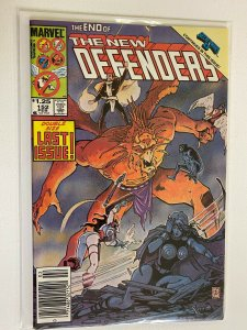 The New Defenders #152 Newsstand Last Issue 6.0 FN (1986)