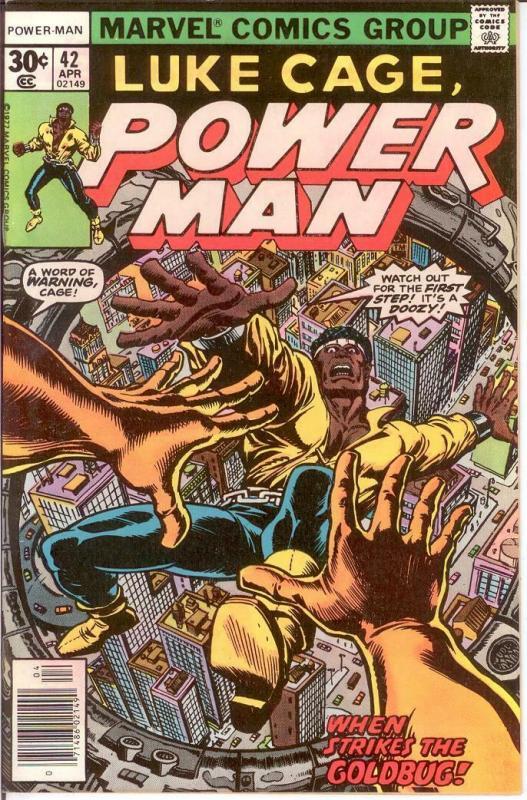LUKE CAGE/POWER MAN 42 VERY FINE April 1977 COMICS BOOK