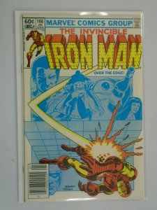 Iron Man #166 Newsstand edition 6.0 FN (1983 1st Series)