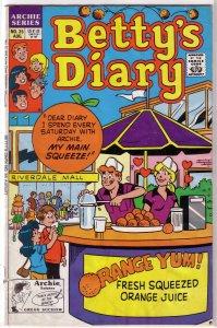 Betty's Diary   vol. 1   #35 GD