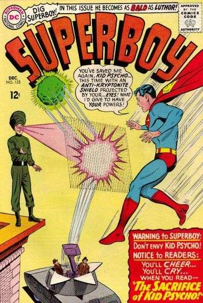 Superboy (1949 series) #125, VF- (Stock photo)