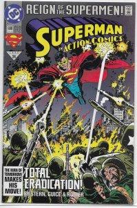 Action Comics   vol. 1   #690 VF/NM (Reign of the Supermen)