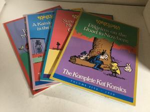 Komplete Kat Komics Volume 5 6 7 8 Lot Oversized SC Softcover B15