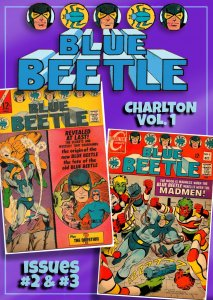 All DITKO All the Time! BLUE BEETLE #2, #3 (1967) Charlton * Origin of Ted Kord