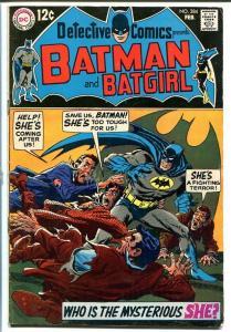 DETECTIVE COMICS #384 1969 BATMAN & ROBIN & BAT-GIRL! FN-