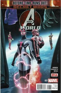 Avengers World #17 Smasher Cannonball Starjammers NM