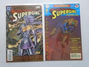DC Supergirl Ann # 1+2 8.0 VF (1996+97)