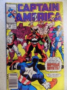 Captain America #353 (1989)