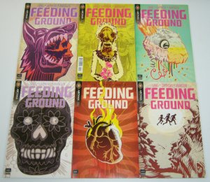 Feeding Ground #1-6 VF/NM complete series - Mexican family wants to immigrate