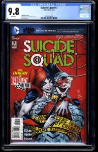 Suicide Squad (2011) #7 CGC NM/M 9.8 White Pages