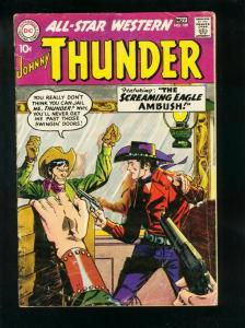 ALL-STAR WESTERN #109 1959-DC COMIC-JOHNNY THUNDER-TRIGGER TWINS-very good  VG-