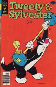 Tweety and Sylvester (2nd series) #86 VF/NM; Gold Key | save on shipping - detai