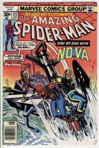 SPIDER-MAN #171, VF/NM, Anchor away, Nova, Amazing, 1963, more ASM in store