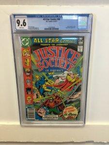 All-Star Comics #68 CGC 9.6 NM+ justice society of america DC 1977 green lantern