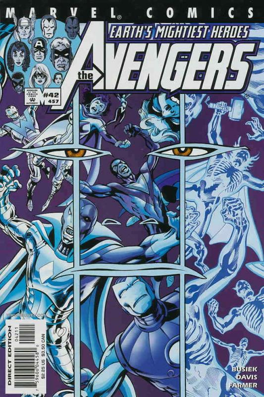 Avengers (Vol. 3) #42 VF/NM; Marvel | save on shipping - details inside