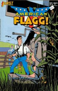 American Flagg #40 VF/NM; First | save on shipping - details inside