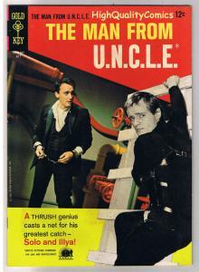 MAN from U.N.C.L.E. #7, VF-, Vaughn, Photo, Gold Key, 1965, more in store