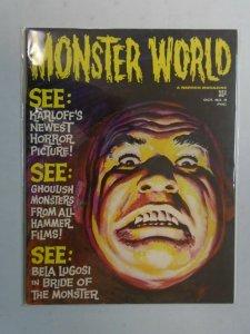 Monster World #5 3.5 VG- (1965 Warren)