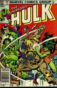 Incredible Hulk #282 - VERY FINE - Arsenal Battle