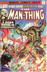 MAN THING (1974) 17 VF-NM May 1975 COMICS BOOK