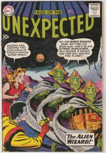 Tales of the Unexpected #49 (May-60) VF+ High-Grade Space Ranger, Cyrl