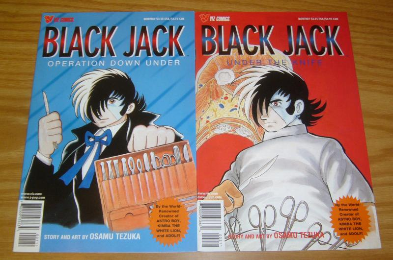 Black Jack Specials #1-2 VF/NM complete series - operation down under the knife