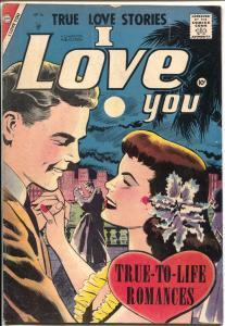 I Love You #16 1957-Charlton-mermaid madness text story-spicy art-VG+