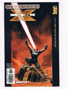 Ultimate X-Men #30 VF Marvel Comics Modern Age Comic Book Millar 2001 DE46
