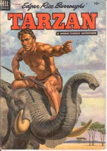 TARZAN 60 G-VG   September 1954 COMICS BOOK