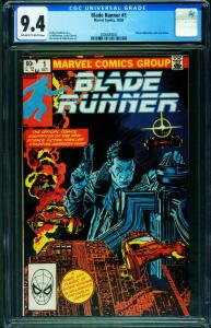Blade Runner #1-CGC 9.4-Al Williamson-Marvel-2006680002
