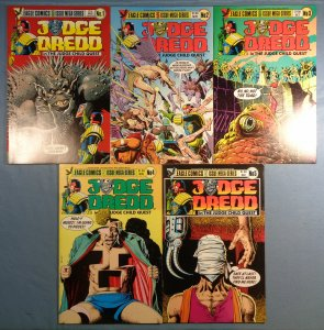 Judge Dredd The Judge Child Quest #1 #2 #3 #4 #5 Complete Series Lot