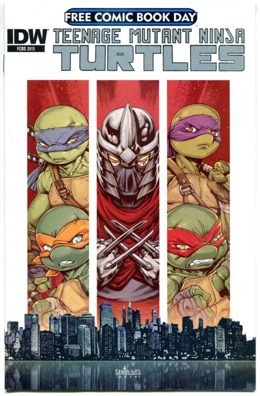 TEENAGE MUTANT NINJA TURTLES #1, NM, FCBD, 2015, more Promo/items in store