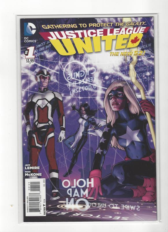 JUSTICE LEAGUE UNITED #1 DC Comics New 52 NM/M SALE!!!!