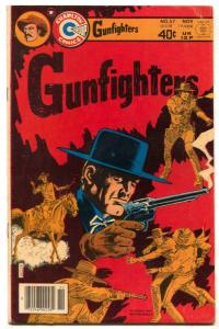 Gunfighters #57 1979- Charlton Western comic FN+
