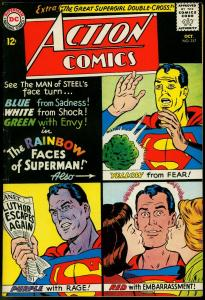 Action Comics #317 1964-Superman- Supergirl- Emotions cover FN/VF