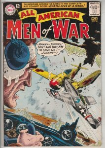 All-American Men of War #96 (Apr-63) FN/VF+ High-Grade Johhny Cloud