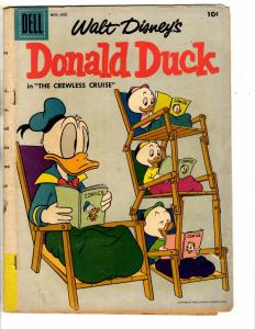Donald Duck # 56 VG Dell Comic Book Walt Disney Huey Mickey Mouse Pluto J275