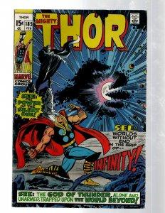 Mighty Thor # 185 VF- Marvel Comic Book Loki Odin Asgard Sif Avengers Hulk RB8