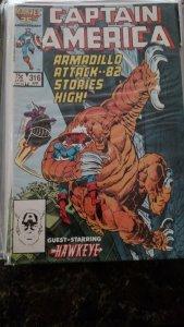 Captain America #316 (Marvel,1986) Condition NM