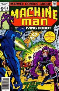Machine Man (1978 series) #4, VF+ (Stock photo)