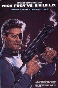 Nick Fury vs. S.H.I.E.L.D. - Marvel - 1989
