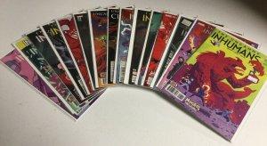 Uncanny Inhumans 1-3 6-9 12-17 20 Annual 1 With Variants Nm Near Mint Marvel