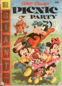 PICNIC PARTY 8 G-  1957 Dell Giant COMICS BOOK