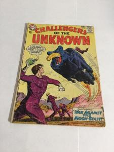 Challengers Of The Unknown 35 Gd Good 2.0 DC Comics Silver Age