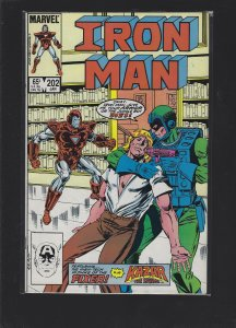 Iron Man #202 (1986)