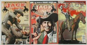 Jack of Fables: 1883 #1-3 VF/NM complete story - Vertigo - Bill Willingham 22-24