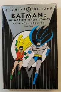 ARCHIVE EDITIONS BATMAN: THE WORLDS FINEST COMICS ARCHIVES VOL.2 1ST PRINT