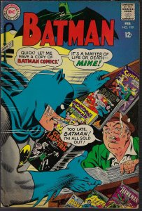 Batman #199 (DC, 1968) FN+