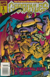 Gargoyles #1 (Newsstand) FN; Marvel | save on shipping - details inside