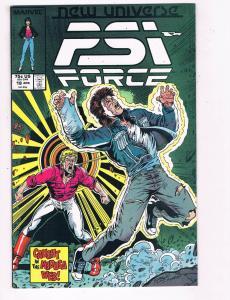 Psi Force #18 VG Marvel New Universe Comic Book DE5